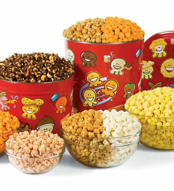 fathers day gift pick a fill gourmet popcorn tin