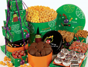 halloween treats and candy
