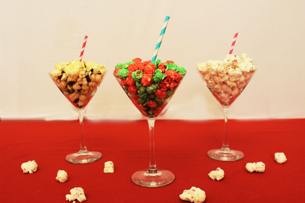 The Popcorn Factory 3-Canister Holiday Assortment