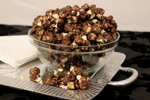 National Popcorn Day Recipe: Tuxedo Chocolate Chip Cookie Popcorn (Plus Fun Family Activities!)
