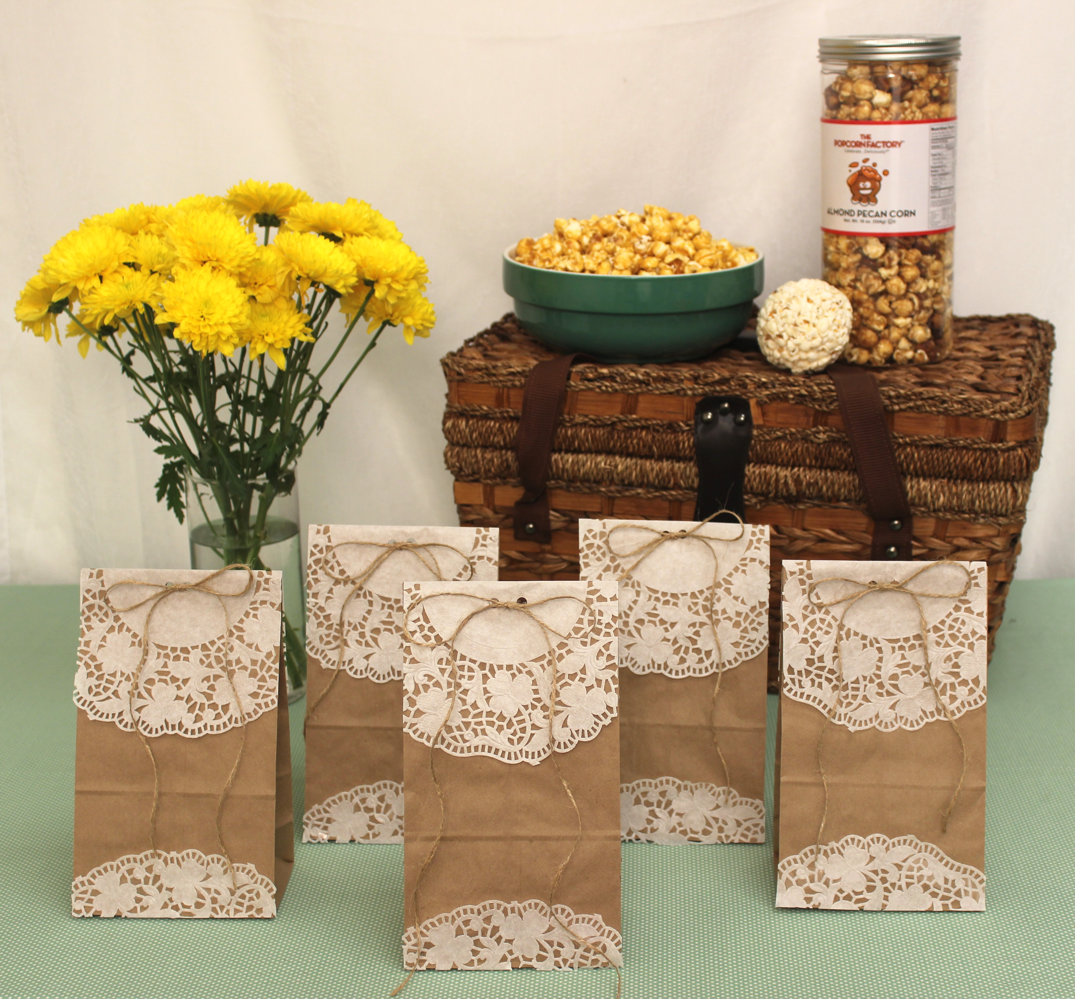 How to Make DIY Popcorn Goody Bags for Spring