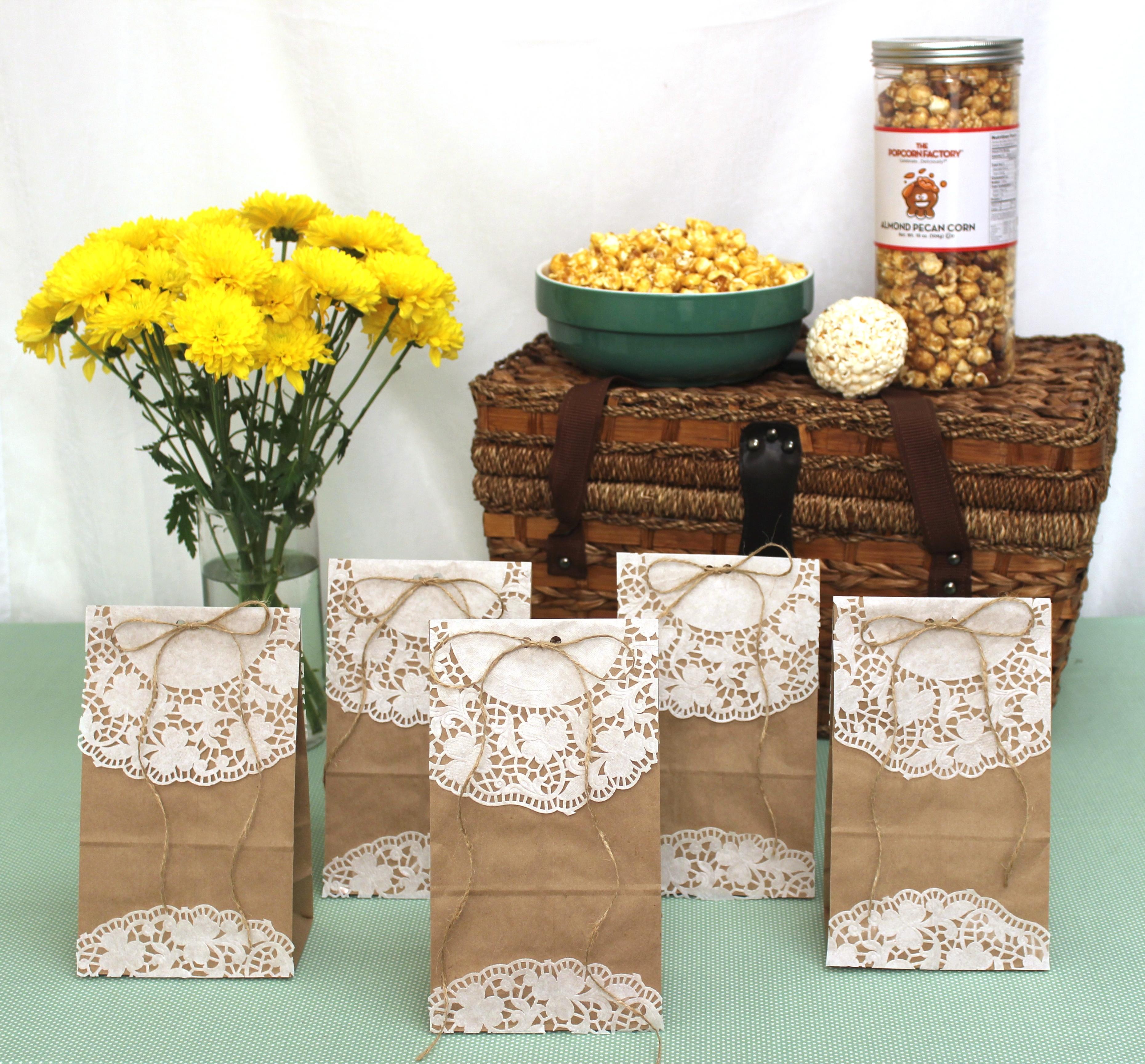 Bag Microwave Popcorn Diy Popcorn Goody Bags