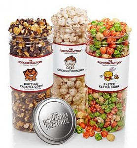 The Popcorn Factory's Clear Favorites Collection