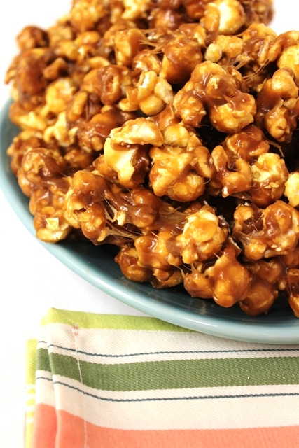Batch of Double Caramel Marshmallow Popcorn