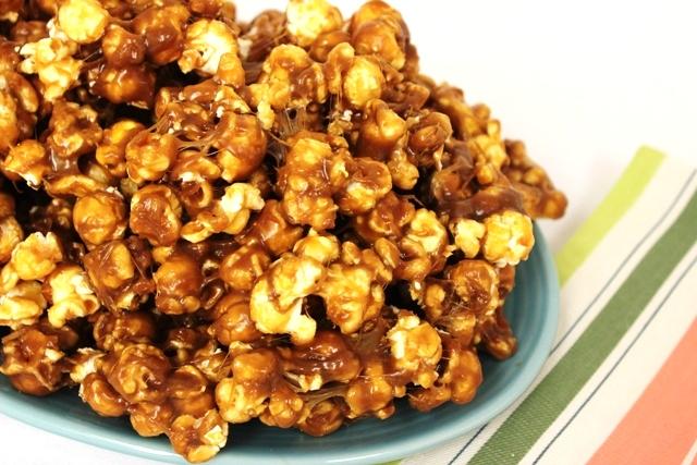 Double Caramel Marshmallow Popcorn