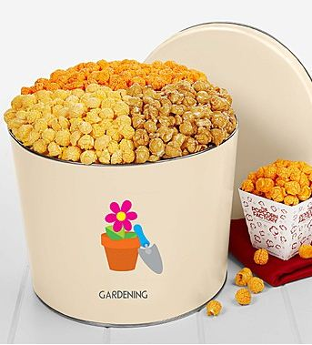 Popcorn Tins With a Spin: The Perfect Gift for Earth Day!