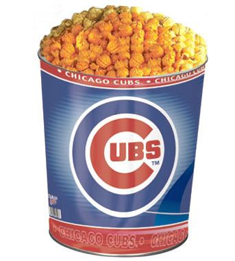 Chicago Cubs 3-Flavor Popcorn Tin