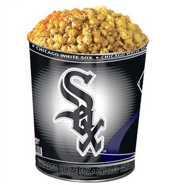 Chicago White Sox 3-Flavor Popcorn Tin