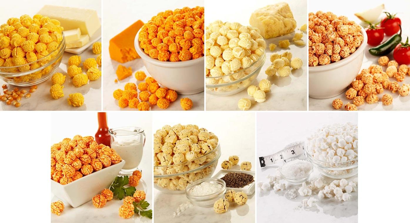 Savory Popcorn Flavors