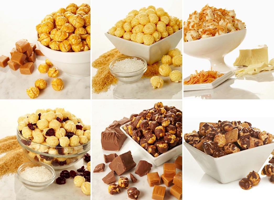 Sweet Popcorn Flavors