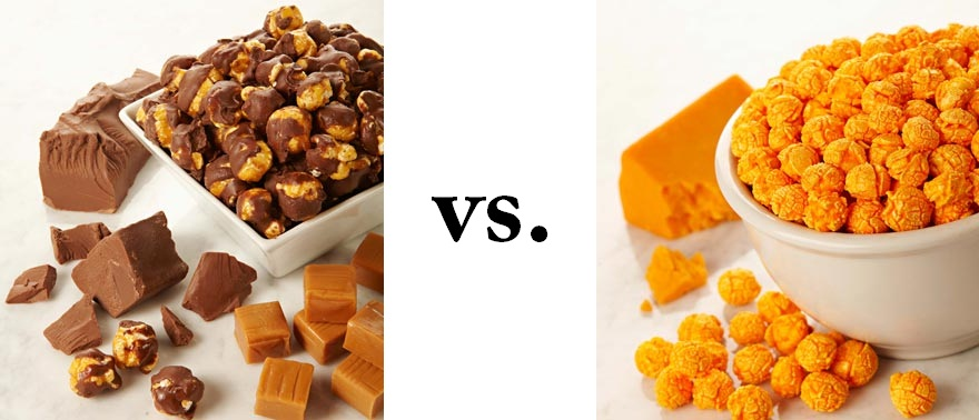 Sweet vs Savory Popcorn