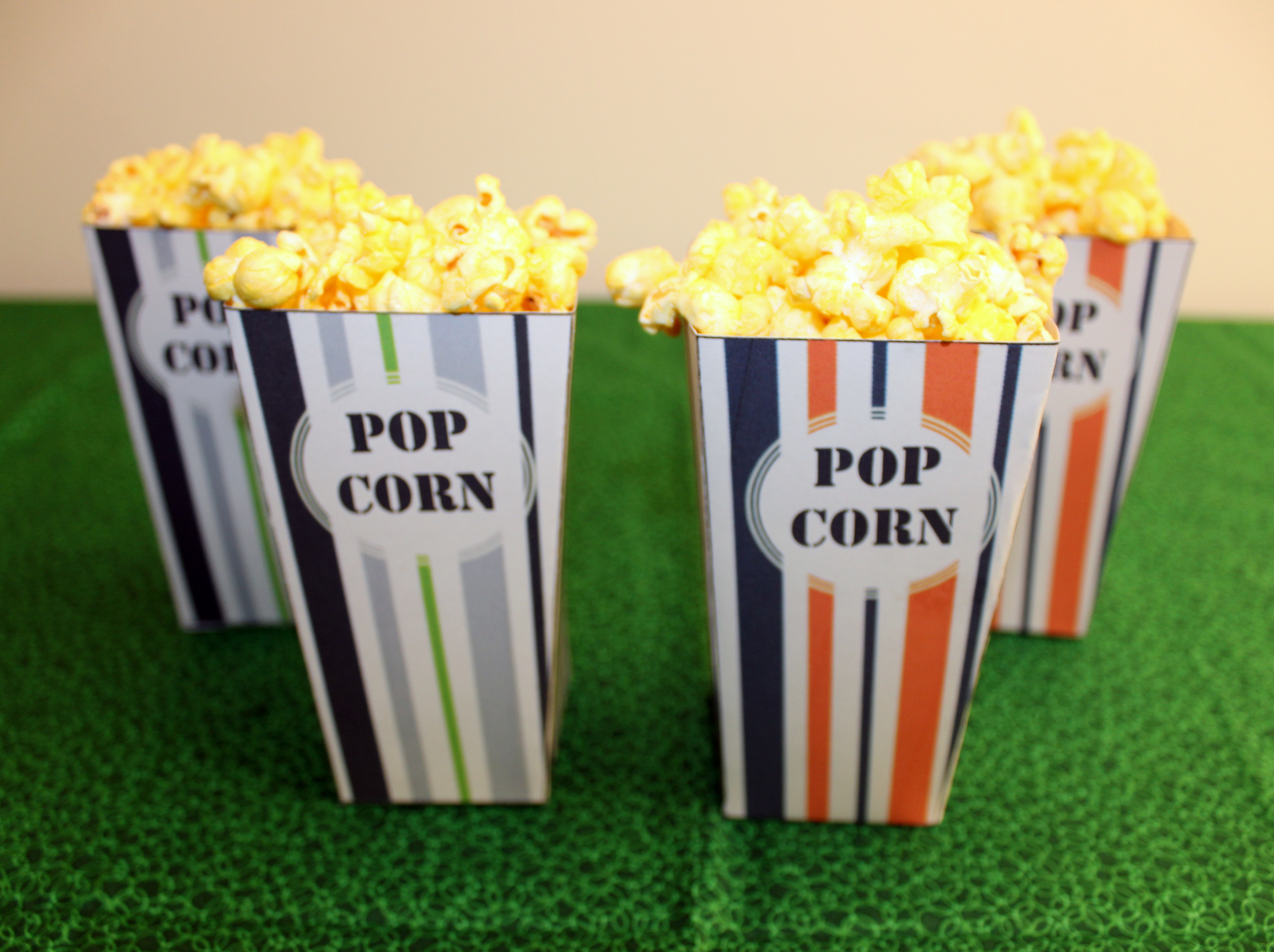 diy super bowl popcorn boxes