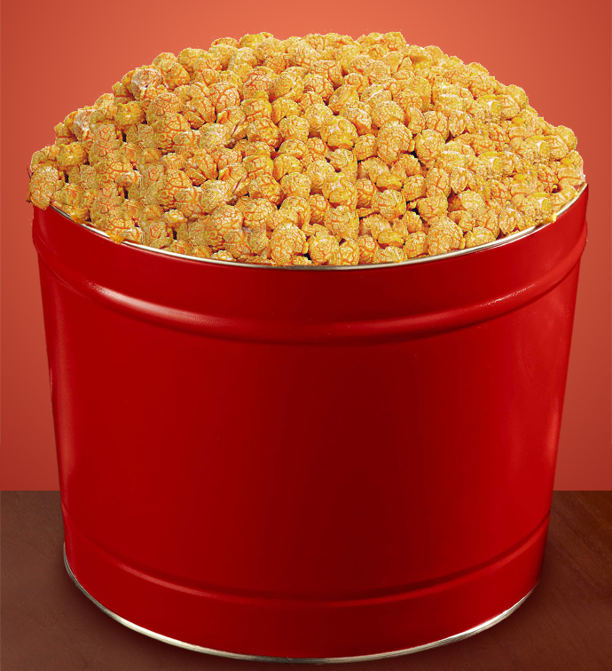 The Popcorn Factory brings you a fusion of the traditional and new, wholegrain popped corn and roasted groundnuts.
