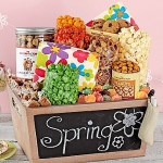 TPF Chalkboard Basket with Popcorn Gifts