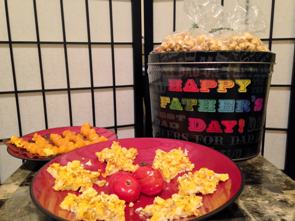 Father's Day Popcorn Brunch Menu