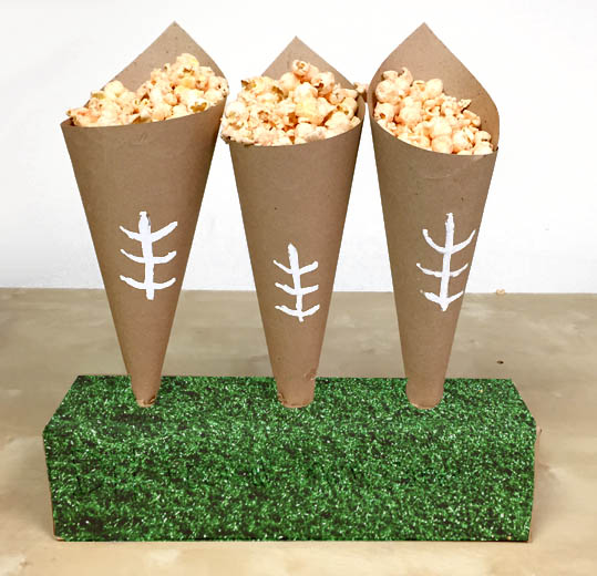 diy-football-snack-cones